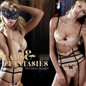 Victoria's Secret Fashionshow Thong & Garter🖤